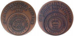 NAA Coin Fair 1992