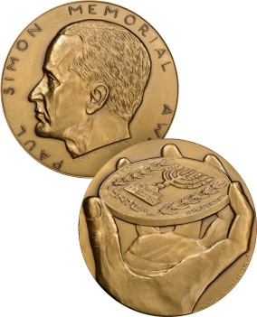 Paul Simon Memorial Award Medal
