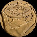 morial Award Medal Reverse